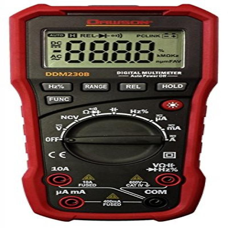 Dawson DDM230B Digital Multimeter w/USB