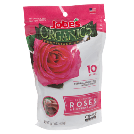 Jobeâs Organics 10ct. Rose Food Spikes.