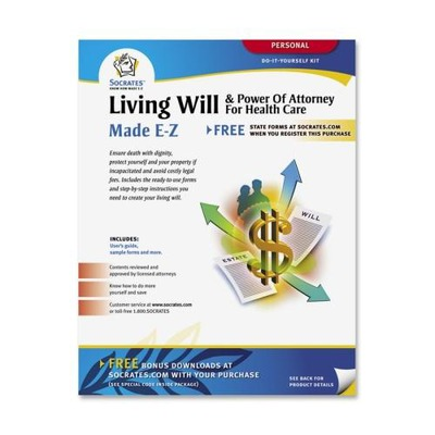 Adams Living Will & Power of Attorney for Health Care Kit ABFK306