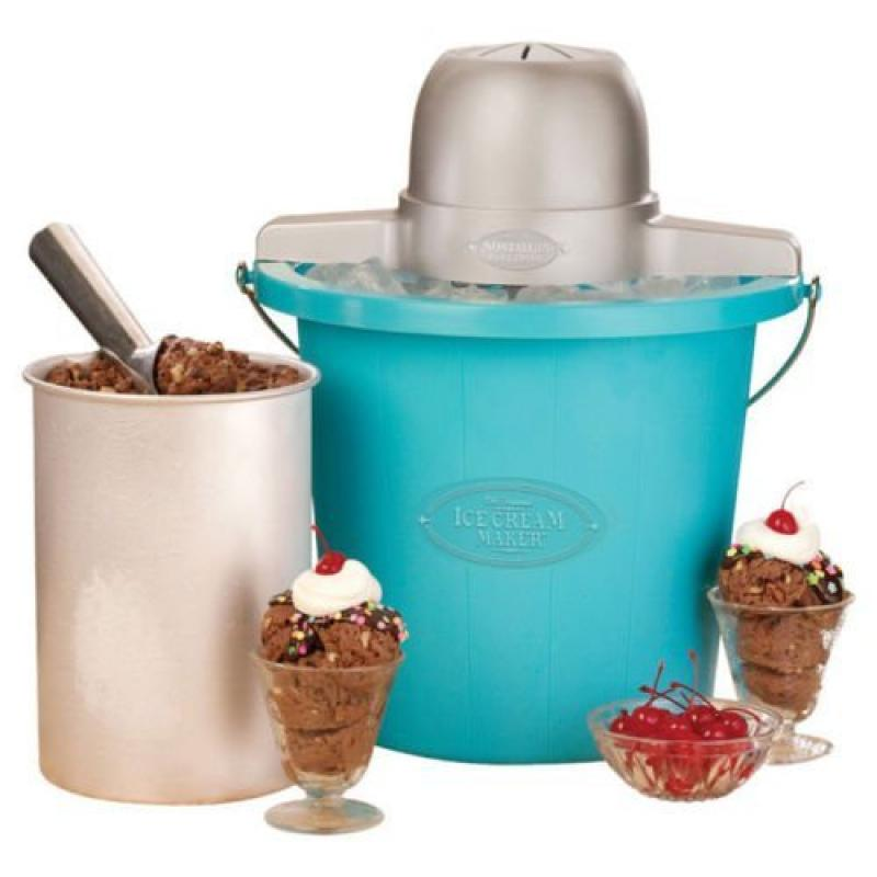 4 Quart Plastic Bucket Ice Cream Maker