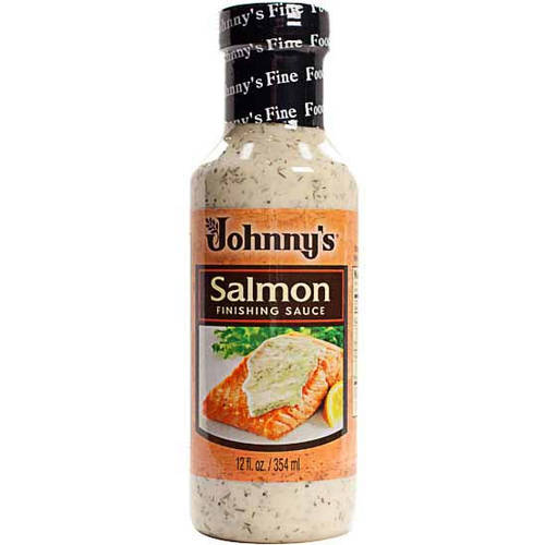 Johnny's Salmon Finishing Sauce, 12 oz