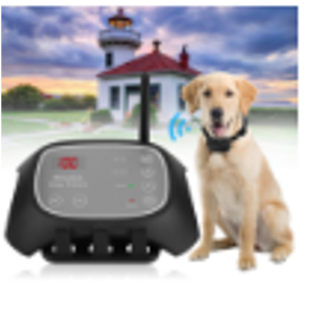 Wireless Remote Pet 1 Dog Fence Training Containment System One Collars Reable Waterproof