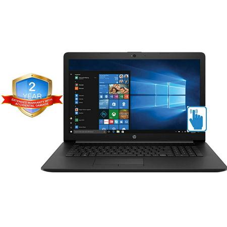 HP 17z 17.3 TouchScreen Laptop in Black (AMD Ryzen 3 2200U, 8GB RAM, 1TB HDD, 17.3