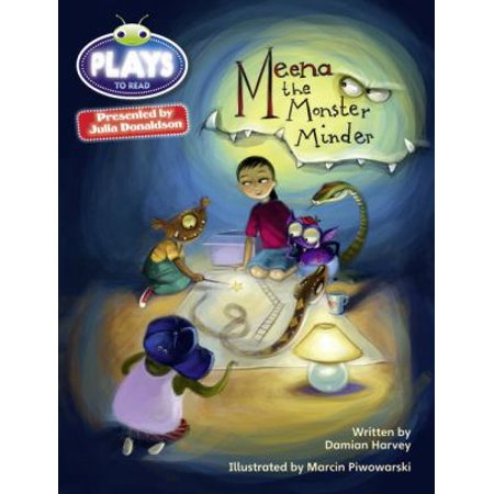 Check Minder Cover (Julia Donaldson Plays Grey/3a-4c Meena the Monster Minder )