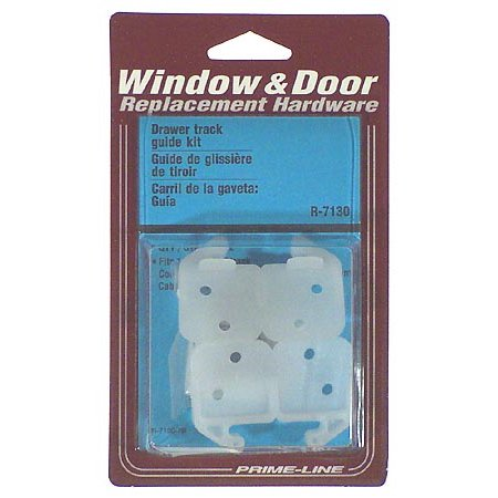 Prime Line R7130 Drawer Track Guide Kit, 2 Pack