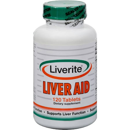 Liverite Liver Aid Tablets  120 Ct