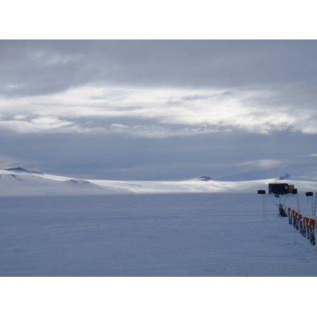 - LAMINATED POSTER Ross Shelf Island Williams Field Ice Antarctica Poster Print 24 x 36
