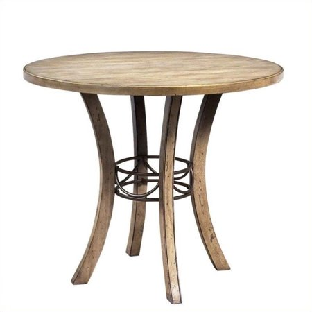 Hillsdale Furniture Charleston Round Wood Counter Height Table