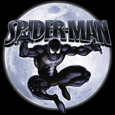 - Officially Licensed, Spider-Man Spidy Moon Sticker