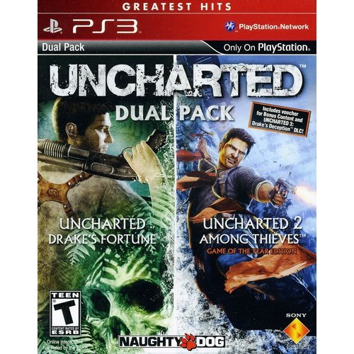 Sony 98375 Uncharted 1&2 Dual Pack for Playstation 3