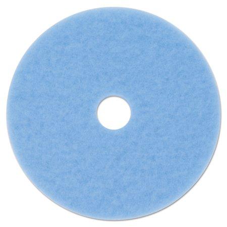 Sky Blue Hi-Performance Burnish Pad 3050, 27 Diameter, Sky Blue, -