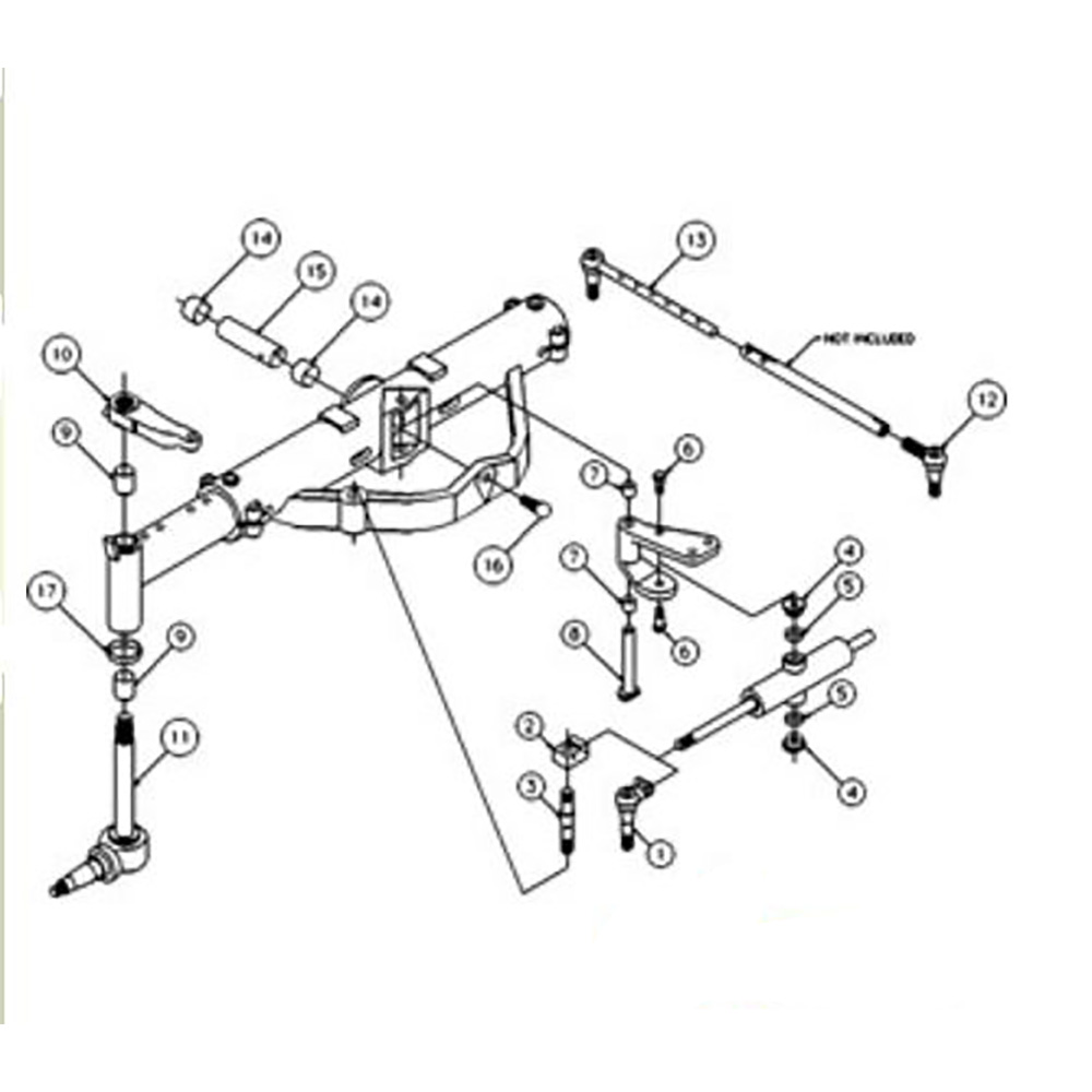 50291006 New Front Axle Overhaul Kit Made for Case-IH