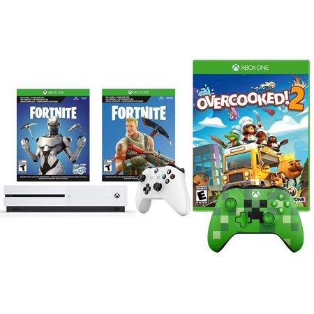 Xbox One S Battle Royale Fortnite Eon And Overcooked 2 Bonus Bundle