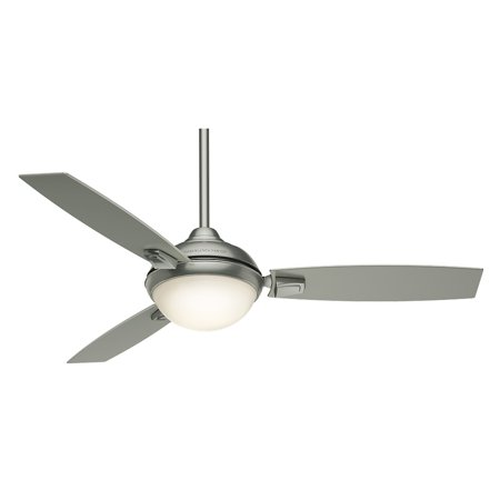 Casablanca 59160 54 in. Verse Satin Nickel Ceiling Fan with Light and