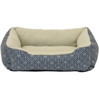 Deals on Vibrant Life 19-inch Rectangle Cuddler Pet Bed