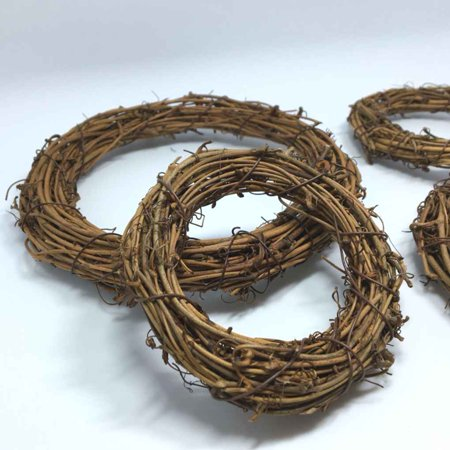 Holiday Time 1PCS Natural Dried Rattan Wreath Christmas Garland Home Door Wall DIY Beautiful Wreath - Diy Advent Wreath