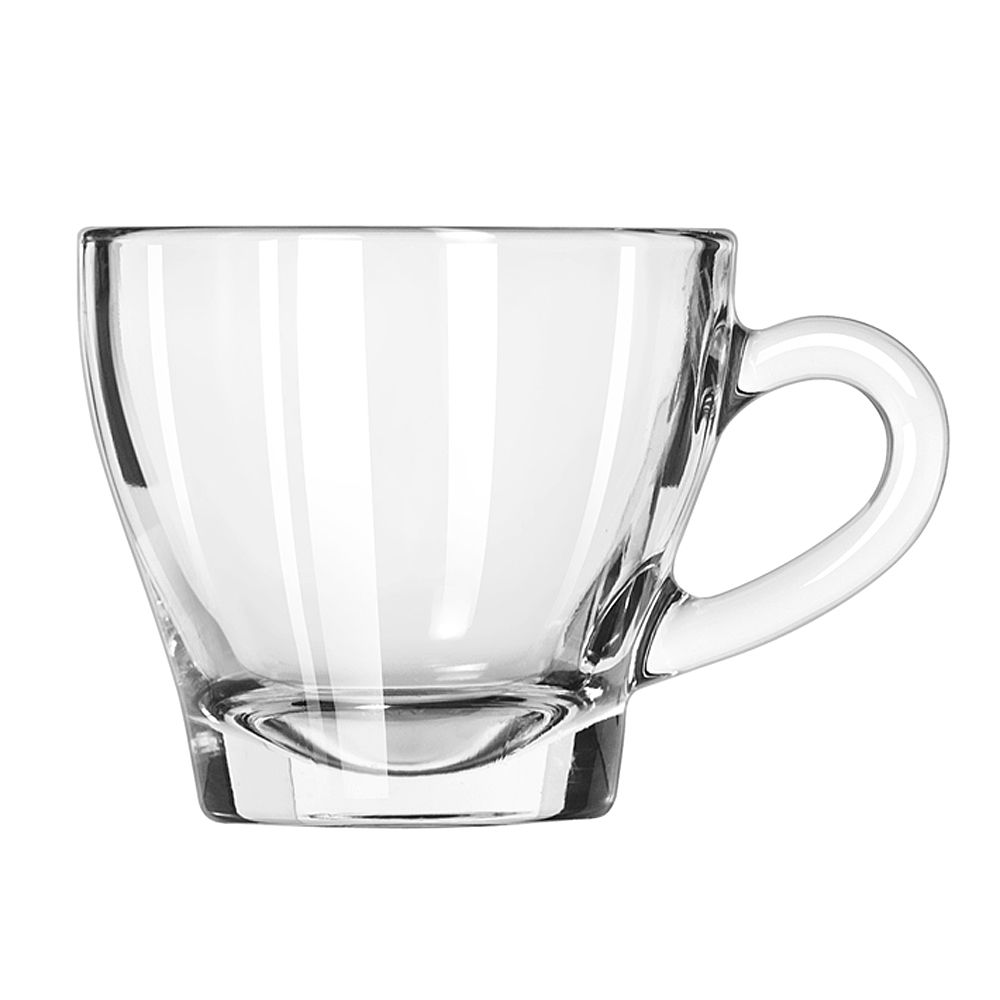 Libbey 13220319 Ischia 6 Ounce Glass Cappuccino Cup - 12 / CS