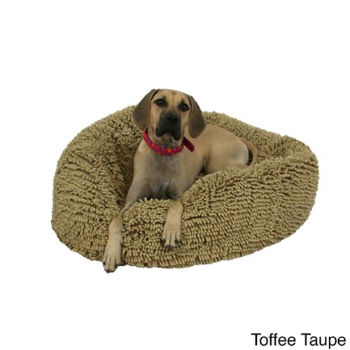 Shags Wags Bean Bag Pet Bed Large, Toffee Taupe