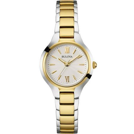 Bulova Women's Silver Stainless-Steel Quartz Watch 98L217