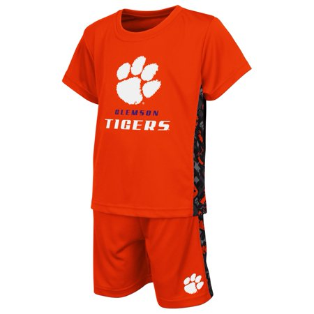 Clemson university tigers toddler t shirt and shorts set for Clemson university t shirts