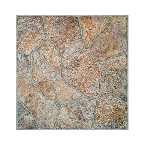 Home Dynamix 16'' x 16'' Vinyl Tiles in Paramount Stone
