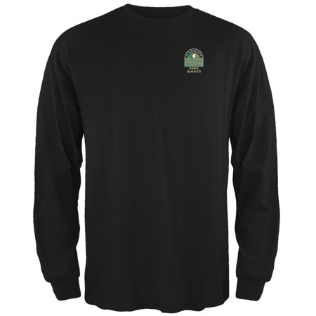 St. Patricks Day - O'Brien's Irish Drinkers Beer Wench Black Long Sleeve - Hot Beer Wench