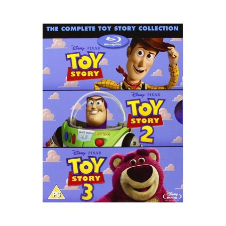 TOY STORY TRILOGY [Blu-Ray Box Set] Complete 1, 2, 3, Disney & Pixar All 3 Movies ()