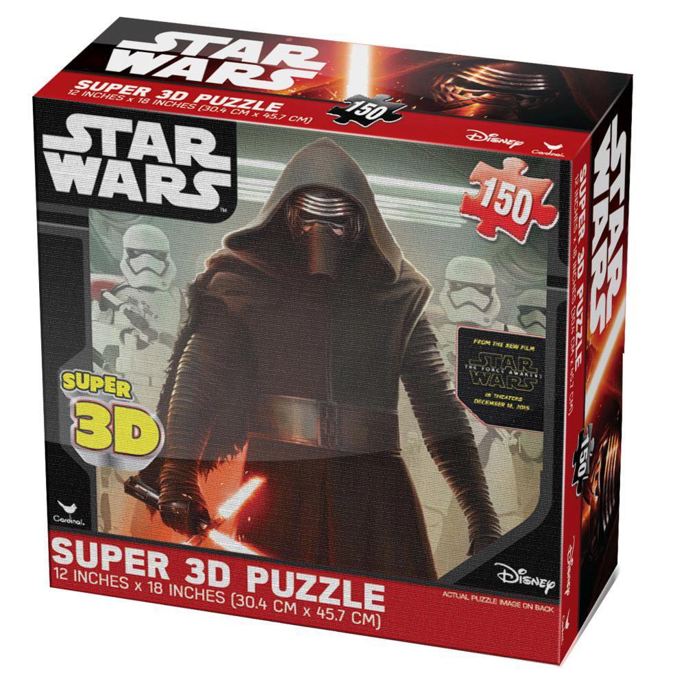 Cardinal Games - Star Wars Ep 7 Super 3d Puzzle