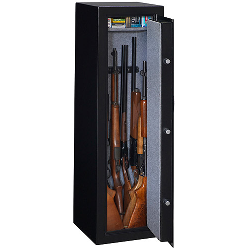 Charming Product Image Stack On 10 Gun Electronic Lock, Matte Black