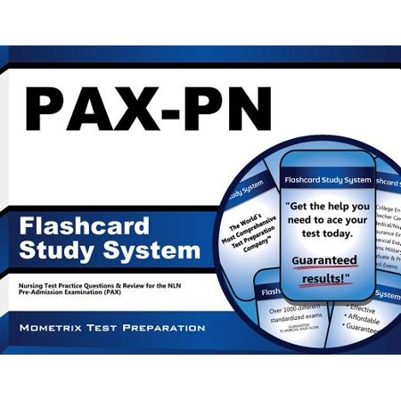 PAX-PN Flashcard Study System: Nursing Test Practice Questions & Review for the NLN Pre-Admission Examination (Betty Neuman System Model In Nursing Practice)