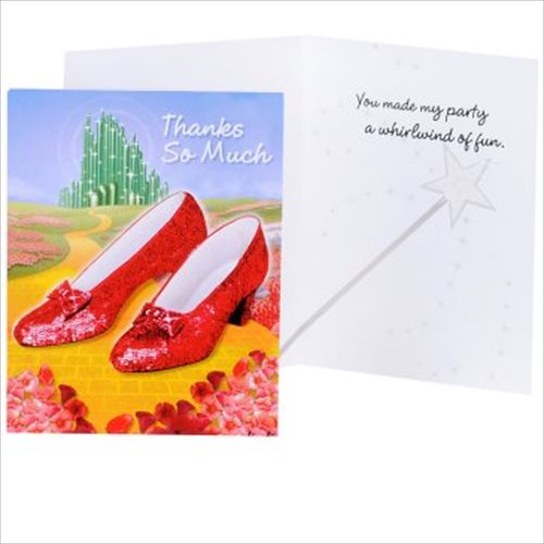 Wizard of Oz Thank You Notes w/ Env. (8ct)