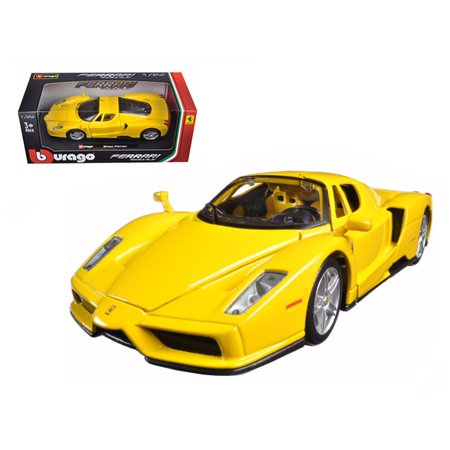 Ferrari Enzo Fxx - Ferrari Enzo Yellow 1/24 Diecast Model Car by Bburago