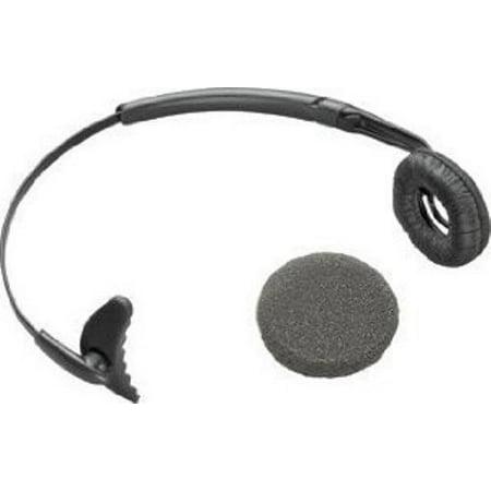 Plantronics 66735-01 Uniband Headband with Leather Ear Cushion for CS-50, CS-55
