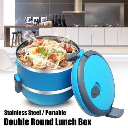 2/3/4Layer Stainless Steel Bento Lunch Box Insulated Bento School Student Children Food Container Storage With Handle