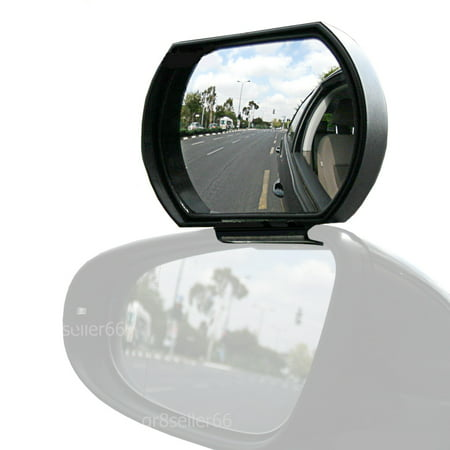 T-Rex Blind Spot Mirror, Attaches to Your Exterior Car Mirror (Large & Adjustable