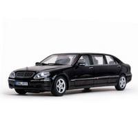 Mercedes S 600 Pullman Limousine Black 1/18 Diecast Model Car by Sunstar