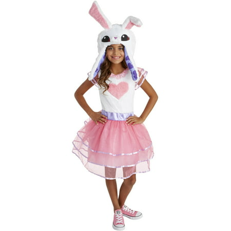 Animal Jam Enchanted Magic Bunny Girls - Full Body Animal Costume