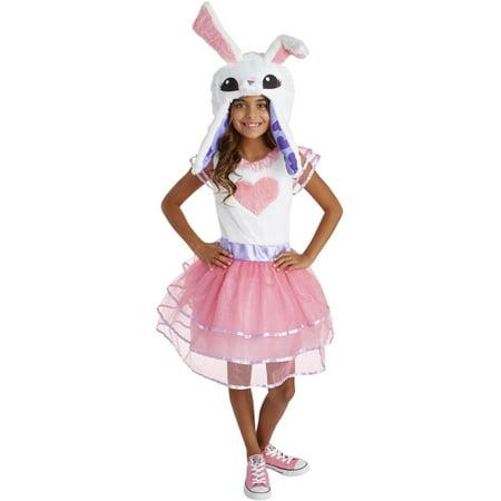 Animal Jam Enchanted Magic Bunny Girls Costume (Thrasher Halloween Jam)