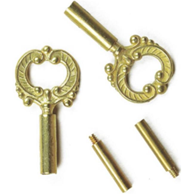 Specialty Hardw 60142 0.5 in. Extension Socket Key - Brass