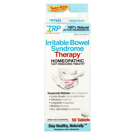 Trp Irritable Bowel Syndrome Therapy Homeopathic Fast Dissolving Tablets  50 Count