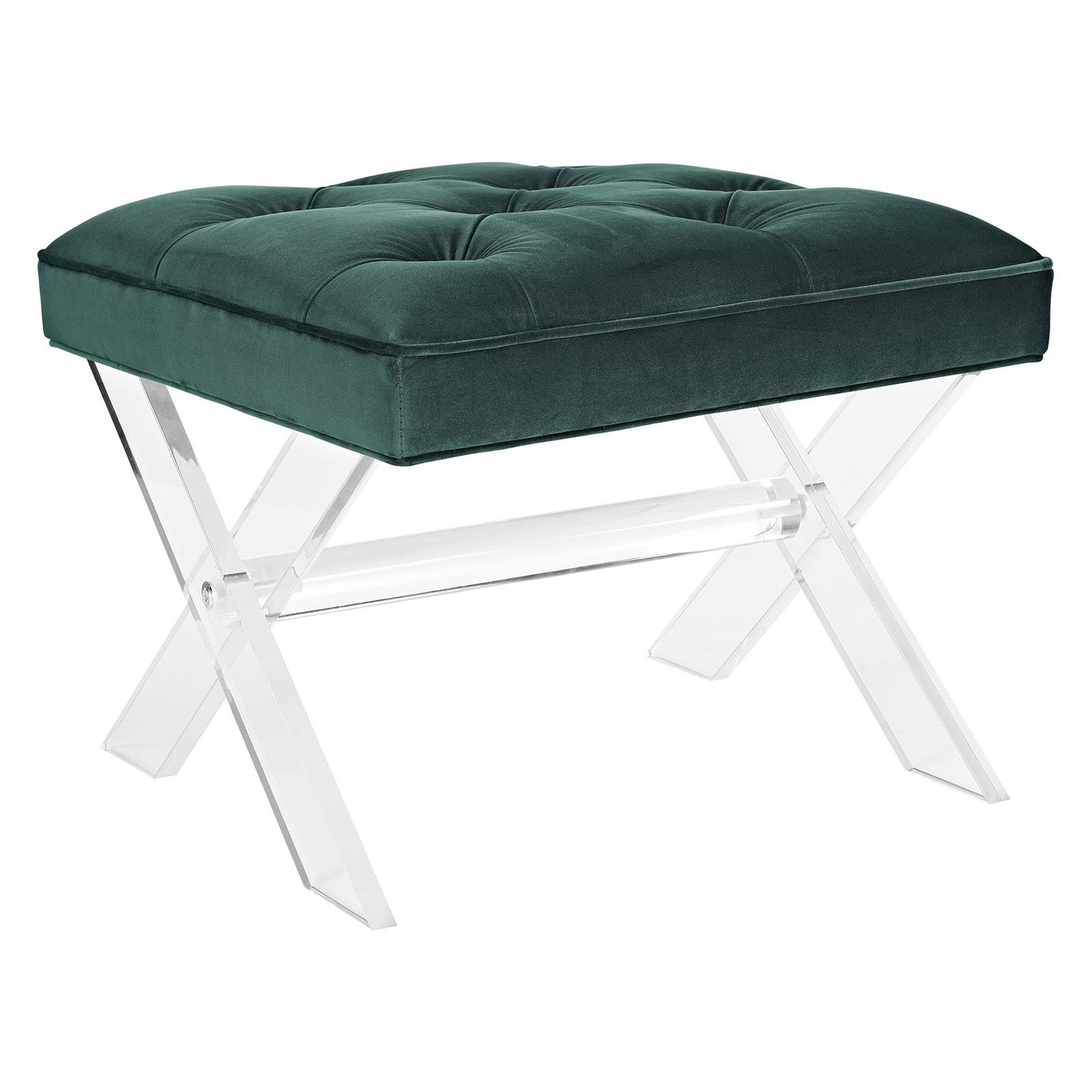 Modway Swift Upholstered Bench or Ottoman, Multiple Colors