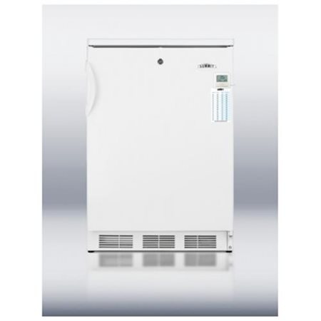 CT66LBIPLUS 24 MEdically Approved Top-Freezer Refrigerator with 5.1 cu. ft. Capacity  Dual Evaporator