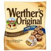 Werthers Original Sugar Free Caramel Coffee Hard Candy 12 pack (2.75oz per pack) (Pack of 4)