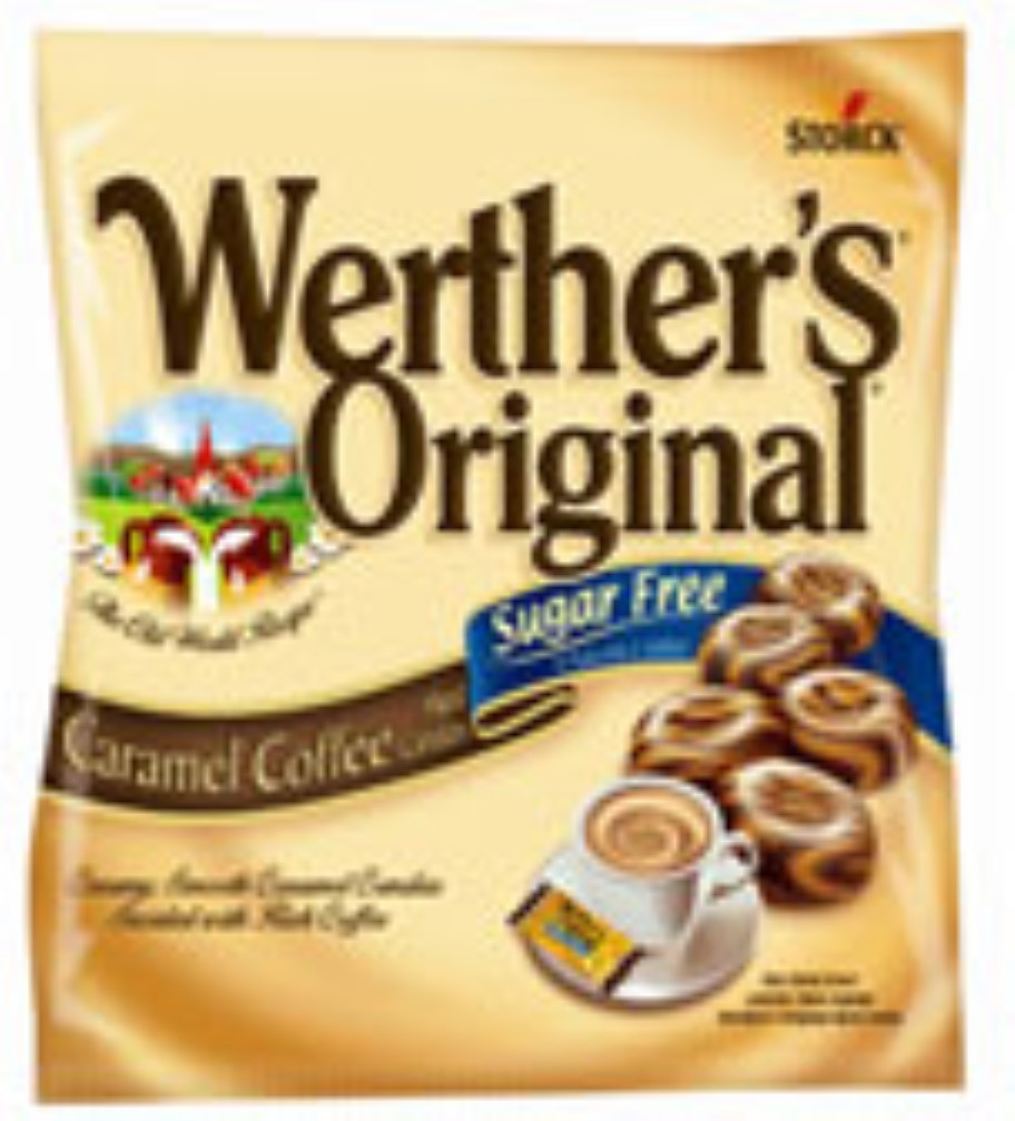 Werther's Sugar Free Caramel Coffee Hard Candies, 2.75 oz