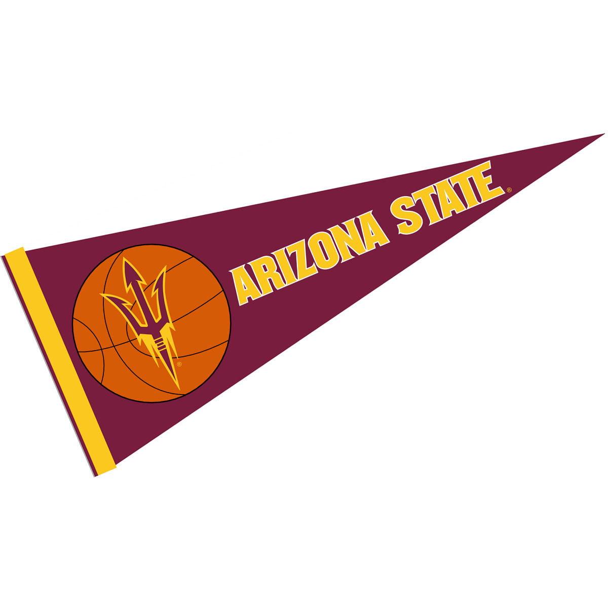 "Arizona State Sun Devils Basketball 12"" X 30"" Felt College Pennant"