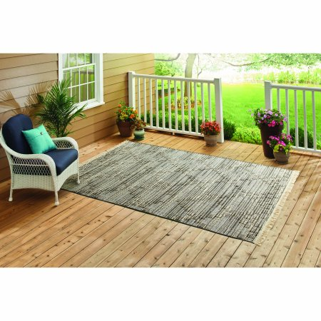 Better Homes Gardens Bhg 6 6x9 6 Woven Outdoor Rug Walmart Com