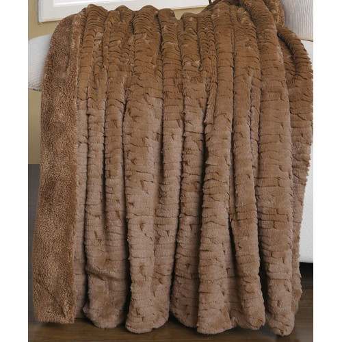 BOON Throw & Blanket Air Brushed Colleen Faux Fur Throw Blanket