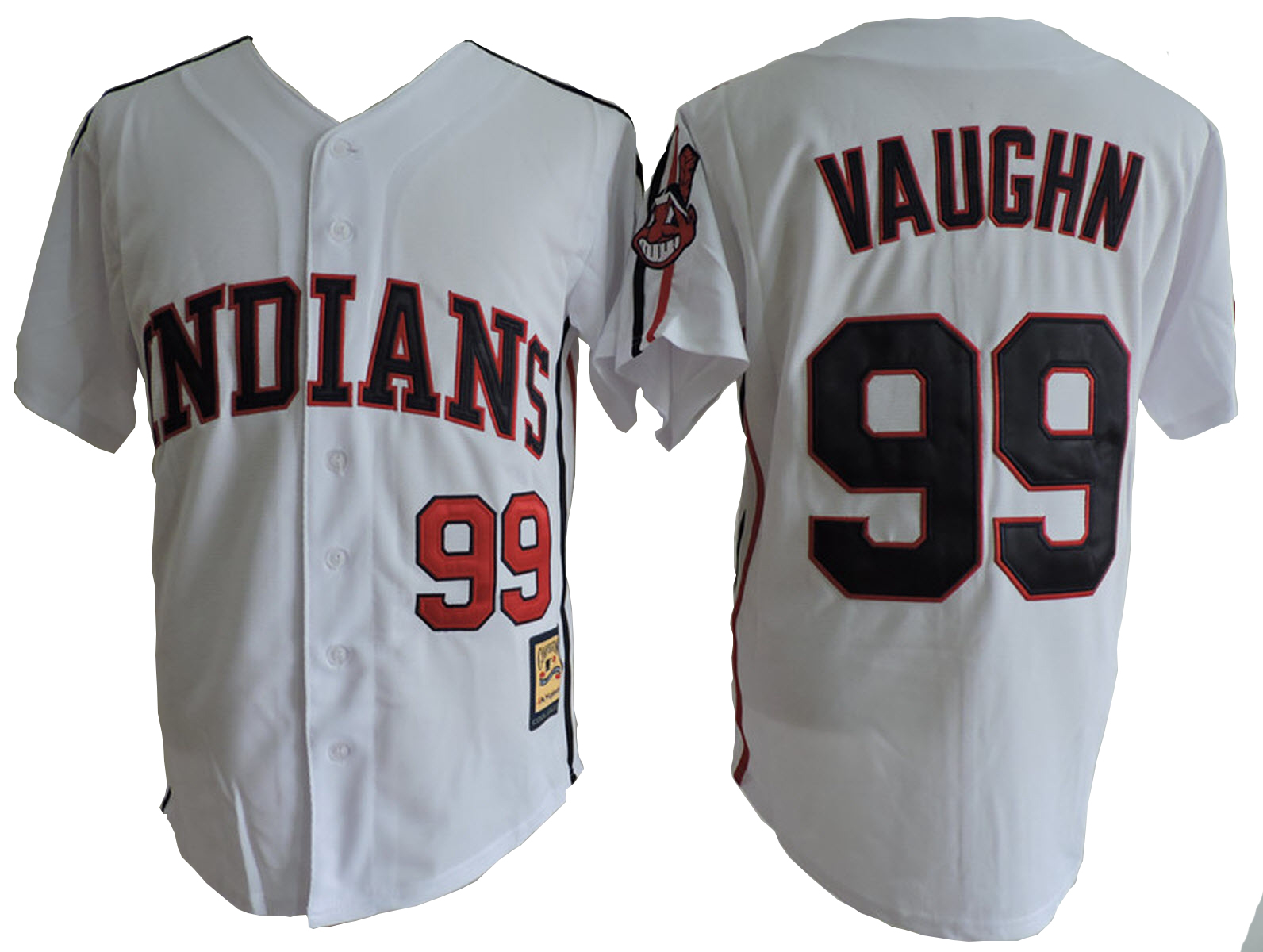 rick thing vaughn 99 jersey major league costume