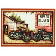 RAM Game Room Pub Sign - Bubba's Billiards