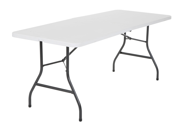 Cosco 6u0027 Centerfold Table, Multiple Colors   Walmart.com